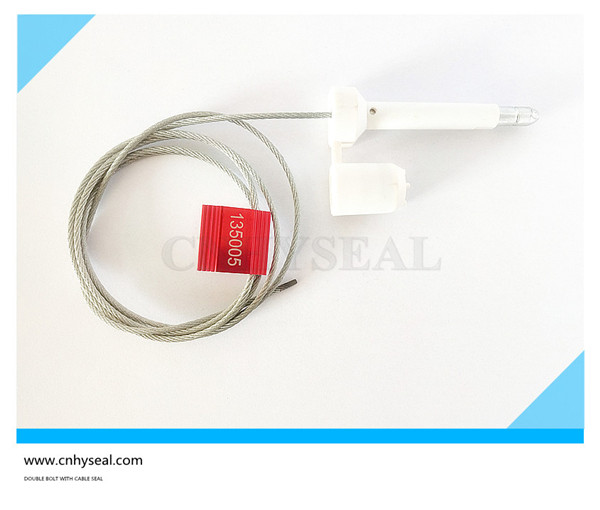 Double bolt and cable seal CH136